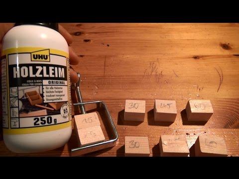 Produkttest, Testbericht - Uhu Holzleim Original - Hält was er verspricht,  unglaublich