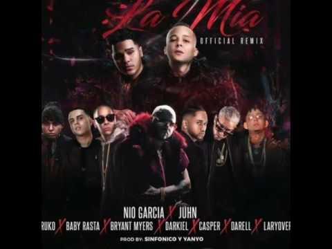 La Mia Remix_Nio Garcia, Farruko, Bryant Myers, Darell, Baby Rasta, Casper Darkiel,Lary Ove