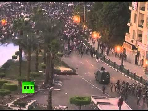 Egypt riots - Egyptian army and police has launched a major crackdown on protesters at Tahrir square. Tens of thousands have been protesting since Friday at a lack of refo...