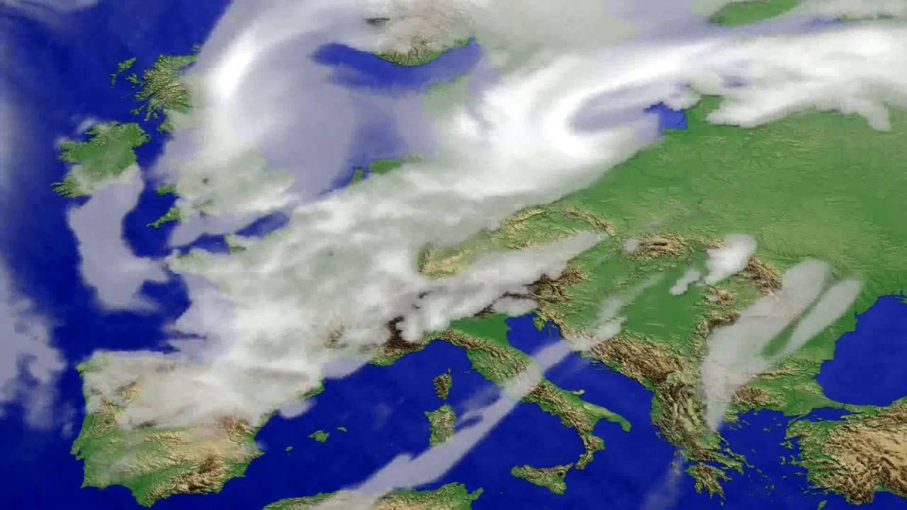 Cloud forecast Europe 2016-06-15