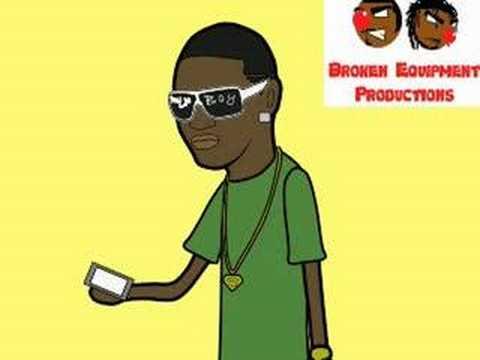 Ice-T Vs. Soulja Boy Tell 'Em Cartoon Parody