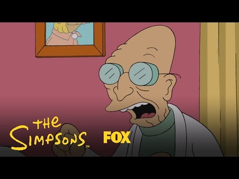 The Simpsons 26.06 Clip 'Futurama meets The Simpsons'