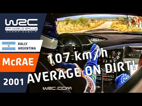 WRC Classic Onboards: Colin McRae: Argentina 2001 SS19 Requested by simrallyteam
