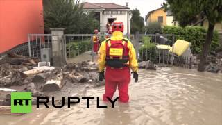 Piacenza Italy  City pictures : Italy: One dead, two missing after heavy rain hits Piacenza