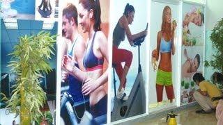 Dán Decal, Dán Pp, In Poster Phòng Tập Gym, Yoga, Sport, Spa