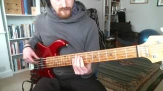 "bass line for ""jazz crimes"" by Joshua Redman"