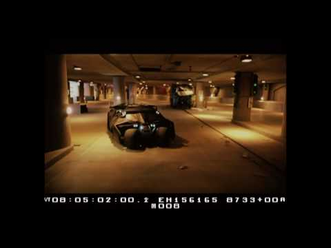 電影「黑暗騎士」許多廠景都用模型拍攝!