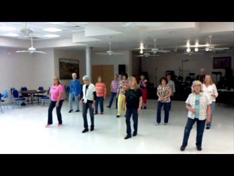 Boom Boom Goes My Heart Line Dance Demo & Teach