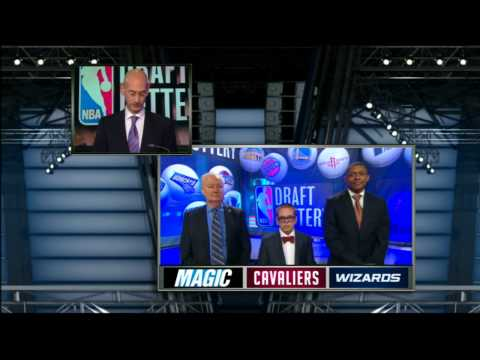1st - Nick Gilbert and the Cleveland Cavaliers emerge from the 2013 NBA Draft Lottery with the #1 overall pick. Visit nba.com/video for more highlights. About the ...