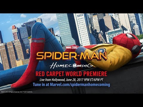 Spider-Man: Homecoming - Red Carpet Premiere - Part 1?>