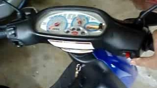 7. 2005 Piaggio Typhoon 50