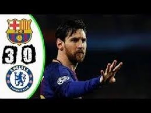 Barcelona vs Chelsea 3-0 - All Goals & Extended Highlights - UCL 14-03-2018 HD