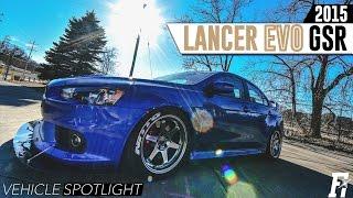 7. Fitment Inc Spotlight-2015 Lancer Evo GSR on 18x9.5's