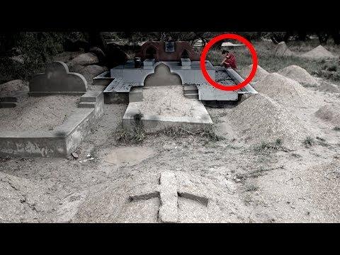 कब्रिस्तान का खौफनाक वीडियो | 5 Scary Graveyard Videos