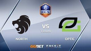North vs OpTic, train, ECS Season 6 Europe