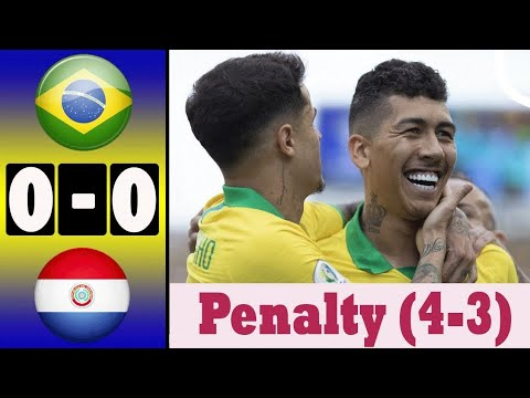 Brazil Vs Paraguay (pen 4-3) All Goals And Highlights | Copa America 2019 #Brazil_vs_parguay