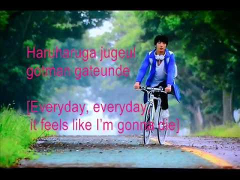 because i miss you by jung yong hwa w/ eng lyrics (видео)