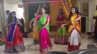 Video Shruthi's voni function dance MP3, 3GP, MP4, WEBM, AVI, FLV Agustus 2018