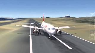 One of my more special landings. This one in particular had a very much overspeed landing, about 200% more speed. Also stops ...