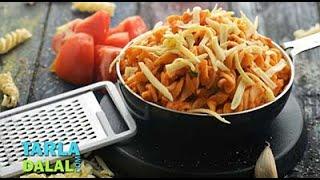 Pasta in Tomato Sauce, Recipe Link : https://www.tarladalal.com/Pasta-in-Tomato-Sauce-(-Tiffin-Recipe)-33106r Subscribe : http://goo.gl/omhUio Tarla Dalal Ap...