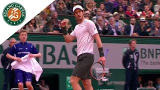 Best Shots of French Open Final - Djokovic Vs Murray