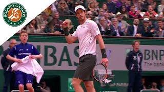 Best Shots of French Open Final - Djokovic Vs Murray