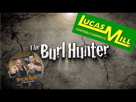 Lucas Mill  Slabbing a Madrone Burl Slabs By OregonBurls.com