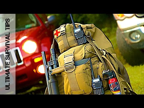 Shotgun + 37 Vehicle Bug Out Bag (Zombie Apocalypse) Survival Kit Gear - You Need in 2019