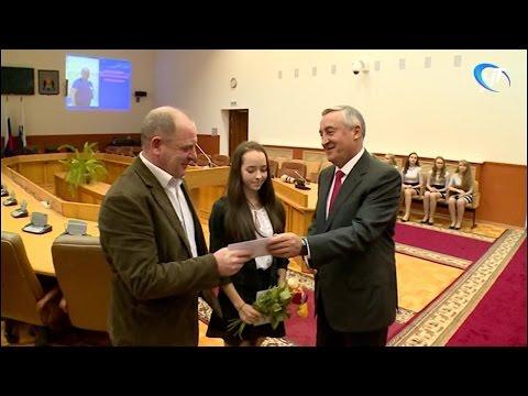 В мэрии прошла ежегодная церемония награждения ведущих спортсменов и тренеров Великого Новгорода