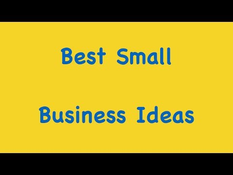 Best Small Business Ideas | How To Find Best Small Business Ideas