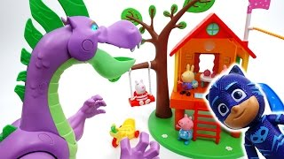 Video Romeo Created a Pink Dragon~! Let's Go PJ Masks! MP3, 3GP, MP4, WEBM, AVI, FLV Juli 2018