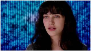 """Jessica Brown-Findlay singing """"Anyone who knows what love is  (will understand)"""" from Black Mirror 15 Million Merits."""