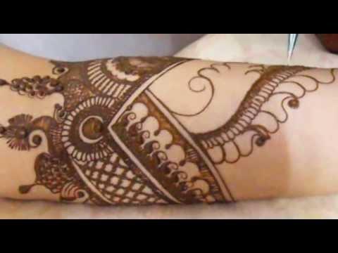 Bridal Henna Mehndi Design-Moroccans Inspired Hina Mehendi Tattoo 2013/Festival (видео)