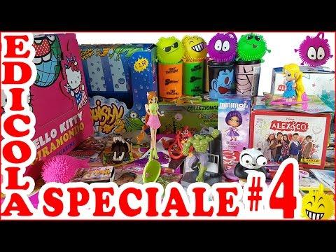 EDICOLA SPECIALE #4: Tutte le cose che ho trovato dalla 51-esima alla 65-esima puntata (видео)