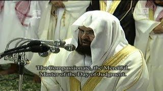 Translation| Night 1 Makkah Taraweeh 2013 Sheikh Sudais
