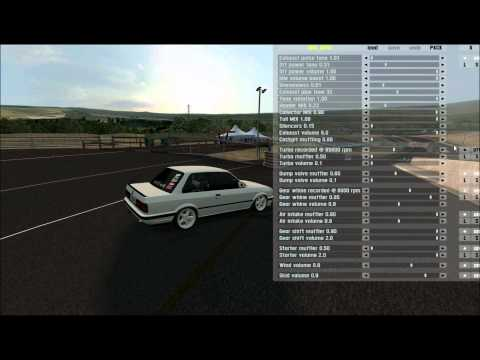 HD:BMW E30 Egsoz Patlatma  Live For Speed