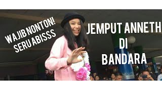 Video JEMPUT ANNETH INDONESIAN IDOL JUNIOR DI BANDARA (ANNETH BACK TO MANADO) MP3, 3GP, MP4, WEBM, AVI, FLV Juni 2019