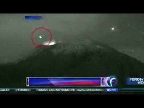 HebohKan Youtube!!! UFO Masuk ke Kawah Gunung Berapi di Meksiko