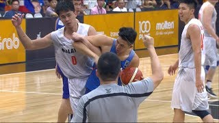 Things get heated between Malaysia and Gilas Pilipinas! | SEA Games 2017