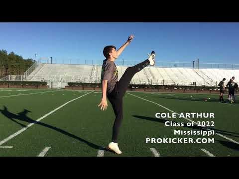 Cole Arthur, Kicker Punter, Class of 2022, Mississippi