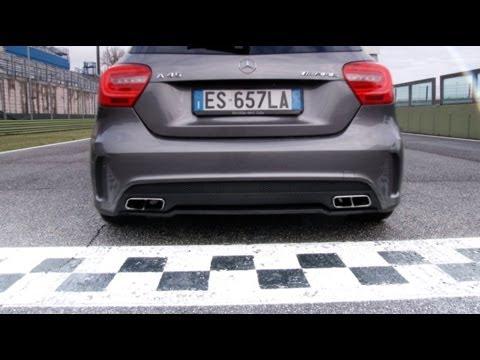 mercedes-benz classe a 45 amg 2014 - drift e suono