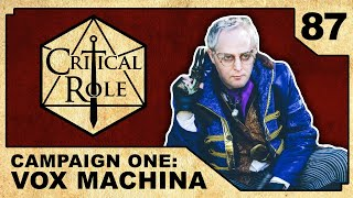 Video Onward to Vesrah | Critical Role RPG Episode 87 MP3, 3GP, MP4, WEBM, AVI, FLV Juni 2018