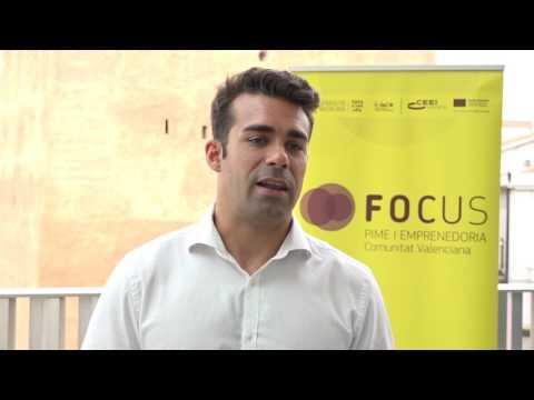 Entrevista a Diego Moya, CEO de Entrenarme, en Focus Horta[;;;][;;;]