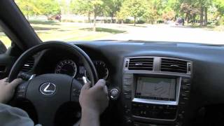 Lexus IS F--D&M Motorsports Video Test Drive And Walk Around Review 2012 Chris Moran