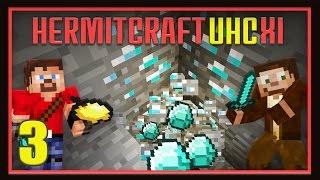 HermitCraft Modded UHC Ep3 -   Diamonds!