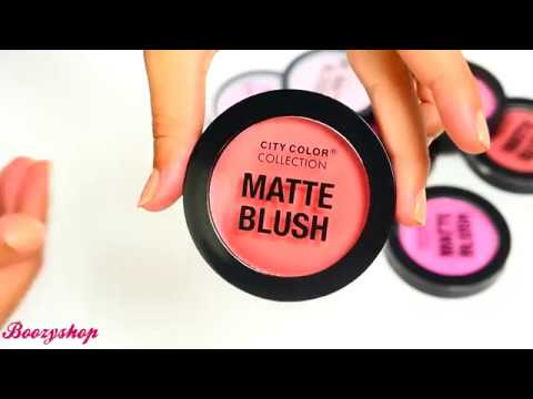 City Color City Color Matte Blush Blossom