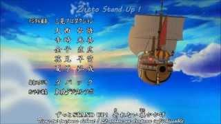 [One Piece] Opening 16 - Hands Up! (Lyrics + Traduction)
