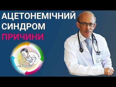 Причини розвитку ацетонемічного синдрому у дітей