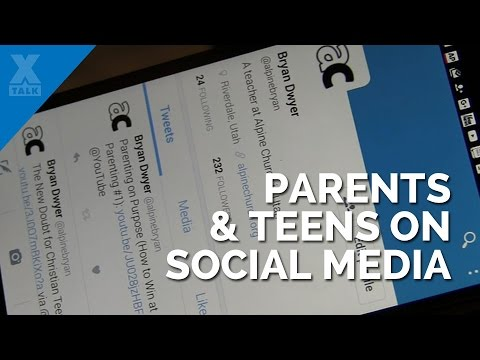 Five Life Tips for Parents With Teens on Social Media
