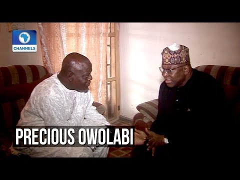 Channels TV Entourage Visit Late Precious Owolabi's Family